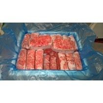 Dog Food Frozen Chicken Mince 32x 500g bags 16kg box. BARF RAW DIET delivered